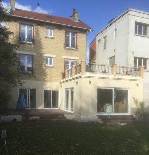Extension maison Hauts de Seine 92 Travaux après * BTP-Design®