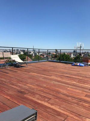 Rénovation terrasse Hauts de Seine 92 - Travaux après * BTP-Design®