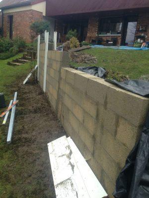 Rénovation mur en pierre Hauts de Seine 92 - Travaux pendant * BTP-Design®
