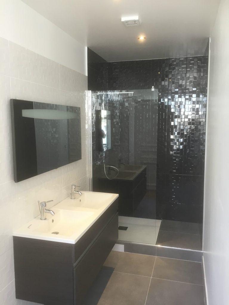 Rénovation salle de bain Paris 16éme * BTP-Design®