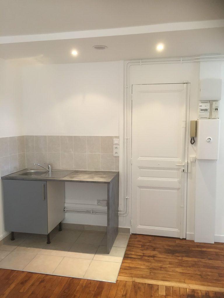 Rénovation cuisine Paris 17éme - Travaux après * BTP-Design®