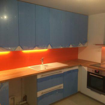 Rénovation cuisine Paris 15éme - Travaux après * BTP-Design®