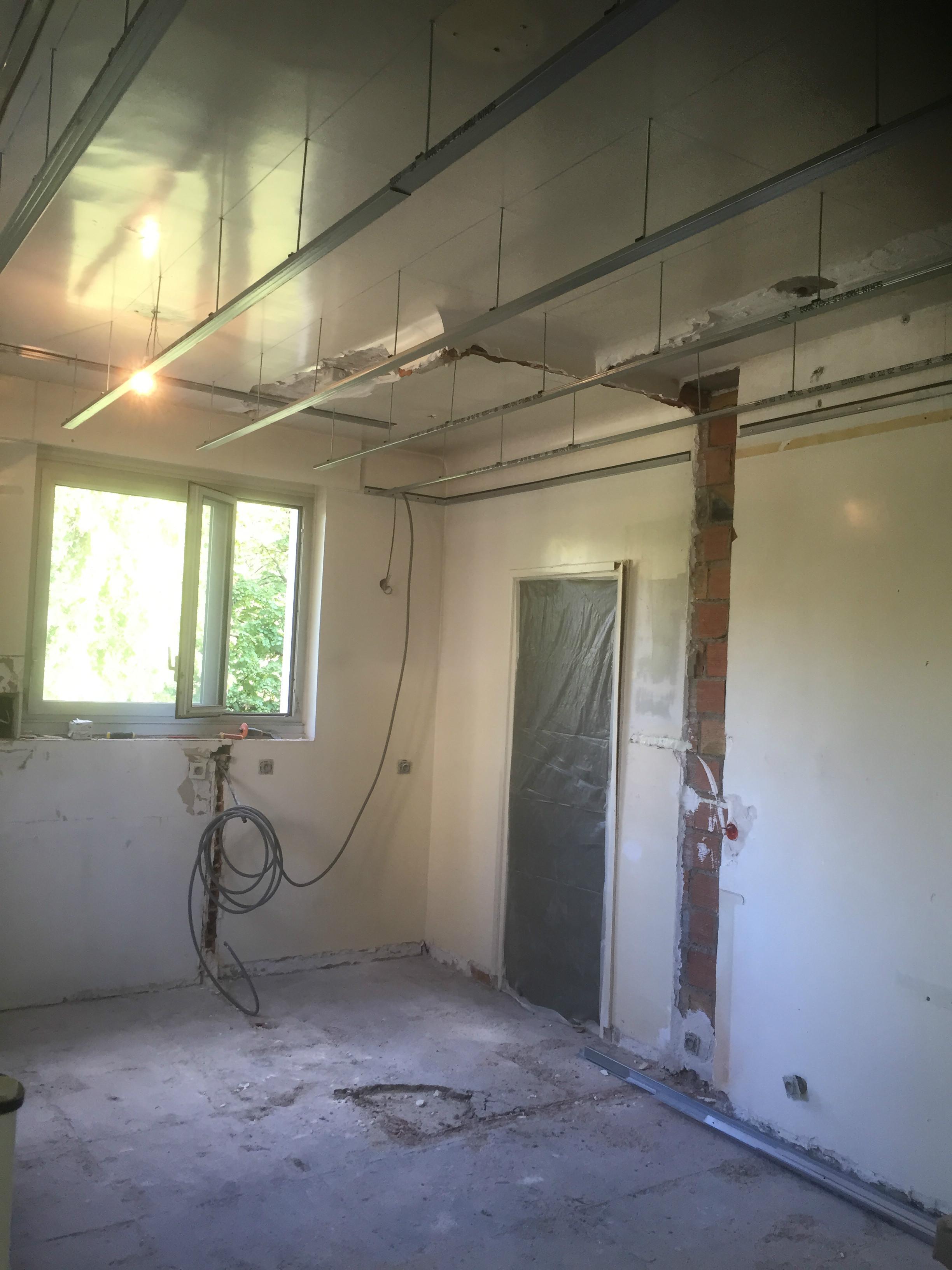 Recouvrir Du Lambris Bois isolation, faux plafond | btp-design®
