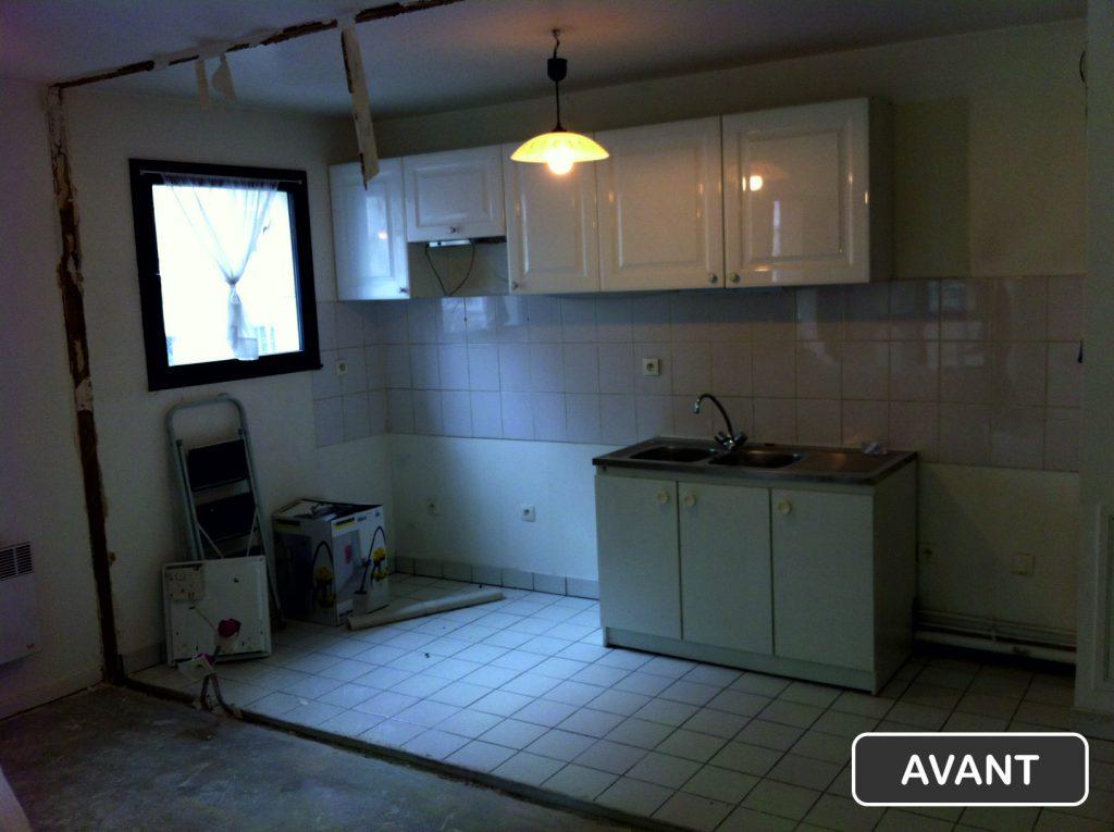 Rénovation cuisine Paris 16éme - Travaux avant * BTP-Design®