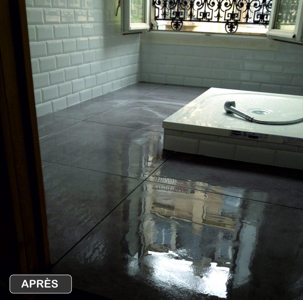 Rénovation salle de bain Paris Gare de Est * BTP-Design®