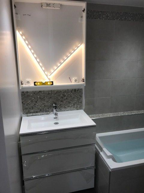 Rénovation salle de bain Boulogne-Billancourt * BTP-Design®